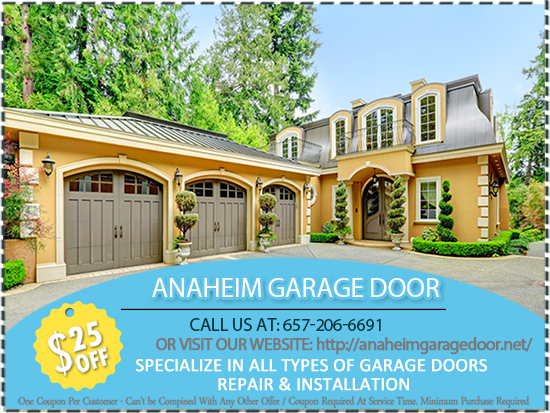 Anaheim Garage Door Repair And Installation Opener